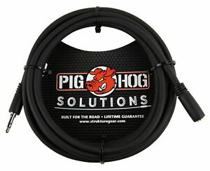 Pig Hog PHX35-10 10ft Headphone Extension Cable, 3.5mm