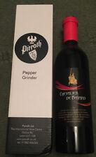Pepper Grinder Pieroth wine bottle style