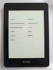 "Amazon Kindle PaperWhite 4 10th Gen 2018 PQ94WIF E-Reader 6"" 8GB WiFi Black #A25"