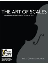 The Art Of Scales Learn to Play Christmas Present Gift MUSIC BOOK Cello