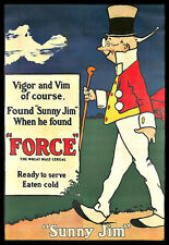 Force  Sunny Jim Wheat Malt Cereal Kitchen Breakfast  Colourful Poster Print