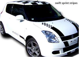 Suzuki Swift Sprint stickers decals graphics