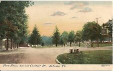 Park Place 5th and Chestnut Streets Lebanon PA Postcard 1907