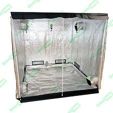 Premium 2m x 1m x 2m 600D Silver Mylar Grow Tent Box Hydroponics Dark Room