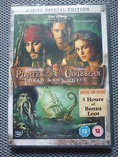 Walt Disney Pirates Of The Caribbean – Dead Man's Chest DVD - NEW