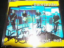 Taxiride Get Set Rare Signed Autographed CD Single