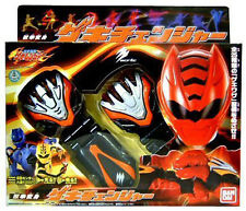 Power Rangers Jungle Fury DX Master Red Tiger Lion Battle Claw Morpher Changer