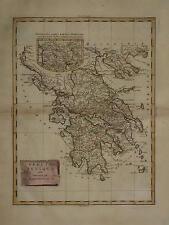 GREECE. GRAECIA ANTIQUA BY ANTONIO ZATTA. 1795
