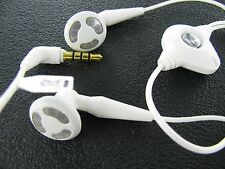 OEM Genuine BlackBerry HDW-14322-002 Earset Headset Stereo White Earbud NEW