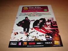 THE KILLS - MIDNIGHT BOOM!!!!!!!!!!! PUBLICITE / ADVERT