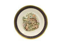 Lenox Annual Collector Plate Woodland Wildlife 1975 Cottontail Rabbits Boehm
