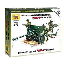 Zvezda 6253 1/72 ZIS - 3 Soviet Gun Plastic Model Kit