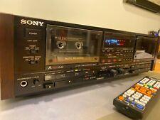 Sony Es Tc-Wr11Es Cassette Deck, Dual Rec/Lc-Ofc Heads/Super Bias/Rms/Ams/Remote