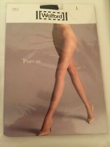 Wolford 10 tights Large Black/