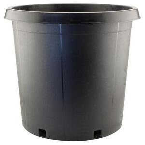 1 / 2 / 3 / 5 / 7 / 10 Gallon Black Plastic Plant Flower Pot Nursery Containers