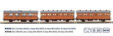 HO - Mabar - ref.81608 - Set 3 coches de madera RENFE I-II-III clase, Ep.II-III