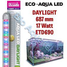 Arcadia Eco Aqua Tira de Luz LED de Acuario Lámpara/- la luz del día 687mm 17w ETD690