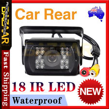Rear View Car Bus 18 IR LED Reversing Security CCD Camera Waterproof Night Mode
