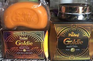Crème Et Savon soin Goldie Beauty Réparatrice Éclaircissante visage Original