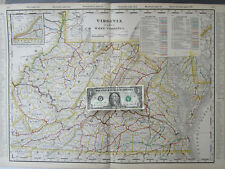 Virginia Antique North America Railroad Maps eBay