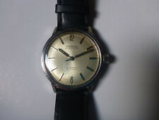 WATCH MONTRE RODANIA COMPRESSOR SECONDO-METER FELSA4000N acier 1963 vintage rare