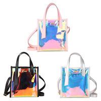 Sweet Crossbody Shoulder Bag Hologram Shine Leather Laser Bag Holographic bag wr