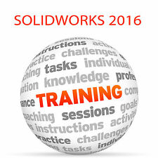 Solidworks 2016-DVD video tutorial de formación