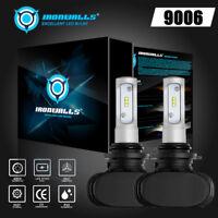 IRONWALLS 9006 HB4 270000LM CSP LED Headlight Kit Car Replace Bulb 6500K White