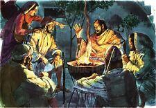 """Reprint - """"Peter Denies Jesus"""" By Richard Hook - Printed On 11"""" X 17"""" Card Stock"""
