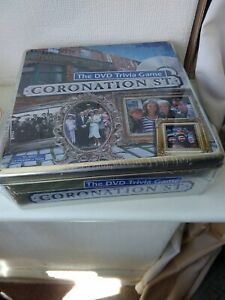 CORONATION ST. STREET - THE DVD TRIVIA GAME IN PRESENTATION TIN - NEW & SEALED