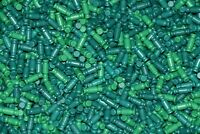 "400 KNEX GREEN RODS 3/4"" Bulk Standard Replacement Parts Lot Small/Short Pieces"