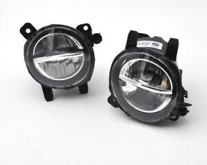 6000K White LED Bumper Fog Light Lamp Replace Assembly For 12-18 BMW F30 F31 F34