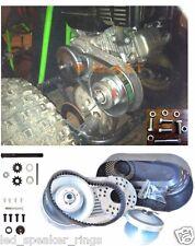 "Predator 212CC GO Kart Torque Converter Clutch 3/4"" #40 #41 AND #35 + BONUS BELT"