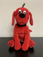 """Clifford The Big Red Dog Puppy Plush 12"""" Adorable Stuffed Animal Scholastic"""