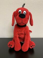 "Clifford The Big Red Dog Puppy Plush 12"" Adorable Stuffed Animal Scholastic"