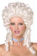 Women's Marie Antoinette Fancy Dress Wig Posh Burlesque Ball Cinderella Hen Fun