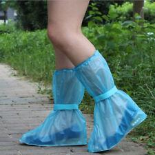 1PC PVC Waterproof Cover Reusable Anti-slip Rain Boot Bike Overshoe