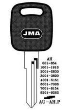 JMA Key Blank – VW/Audi AU-AH.P - cut to code or photo
