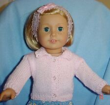 Doll clothes/ HANDMADE Sweater/Fits American Girl 18 inch  Dolls--CUTE