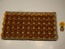 Lot of 50 T3157NA Incandescent Amber Automotive OEM bulbs