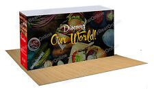 Trade Show Display quick pop-up 20ft Booth  (store room) graphics included z-05