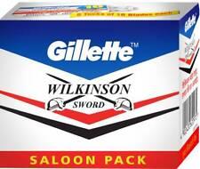 200 blades GILLETTE WILKINSON SWORD RAZOR BLADES Double Edge Safety Razor Blade