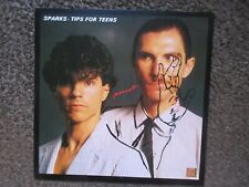 """SPARKS """"TIPS FOR TEENS""""+""""DON'T SHOOT ME"""" 1981 WHY UK MINT/MINT OOP 12"""" SINGLE"""