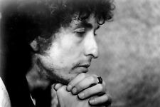 "bob-Dylan-face-close-up CANVAS WALL ART ""24x18"" inches"