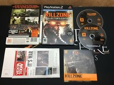 Killzone Collector's Edition Steelbook - Sony Playstation 2 (TESTED) PAL UK