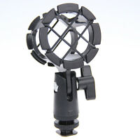 CAMVATE Microphone Shock Mount Holder Stand Mic Hot Shoe for Camera Video Rig