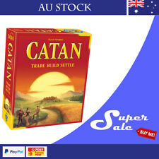 The Settlers of CATAN 5th Edition Base Game Board Game Au Stock