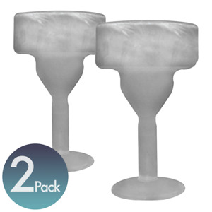 (Special )Amsterdam Freeze Glass Margarita Glass Freezer Cup Include 2 Glasses