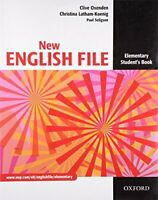New English File: Elementary: Student's Boo... by Latham-Koenig, Chris Paperback