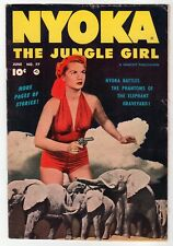 Fawcett - NYOKA THE JUNGLE GIRL #77 - FR 1953 Vintage Comic